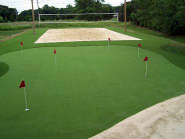 Artificial Grass Photos: Artificial Turf  School Stadium Bellwood Illinois  Parks