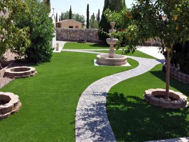 Artificial Grass Photos: Synthetic Grass Midlothian Illinois  Landscape  Front Yard
