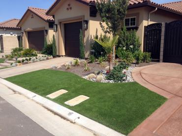 Artificial Grass Photos: Synthetic Turf Justice Illinois Lawn  Front Yard