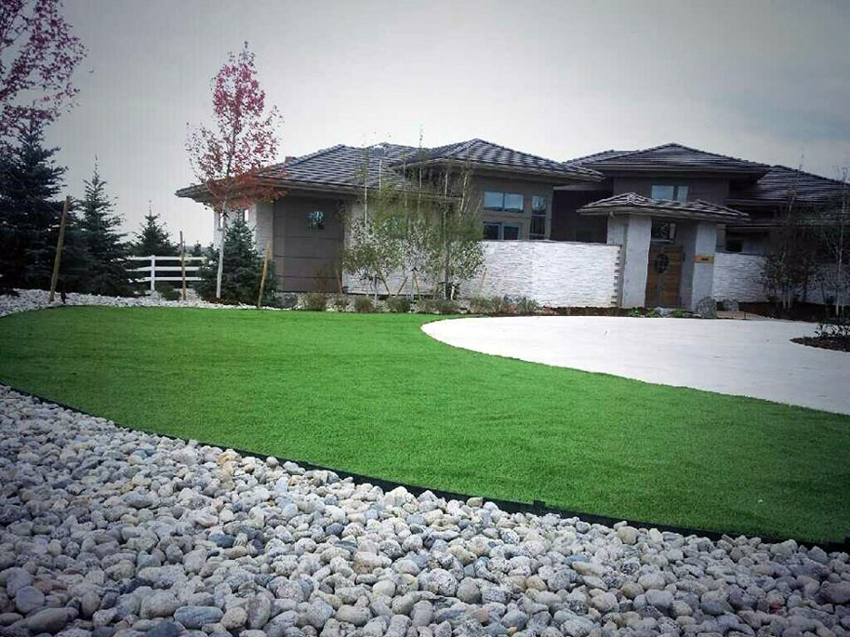 Synthetic Grass Long Grove Illinois Lawn Front Yard